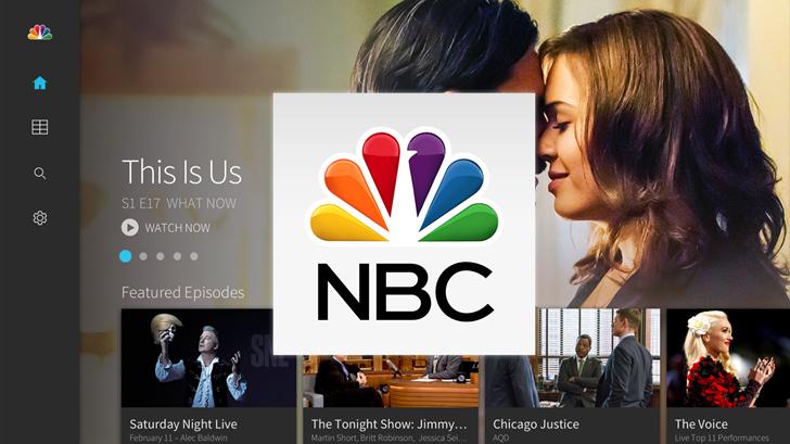 NBC Android TV Hero