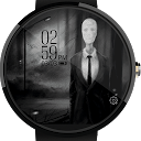SlenderMan - Creepy Watch Face